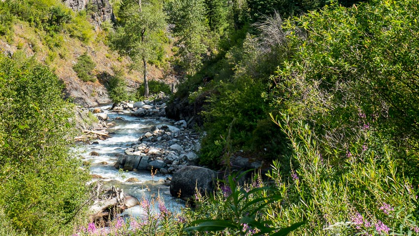 west fork wallowa river